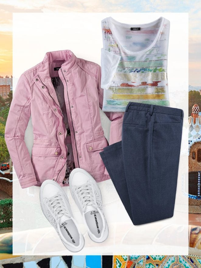 4b06f03d75b3e0 Damen-Outfit für den Städte-Trip im Online-Shop bequem kaufen