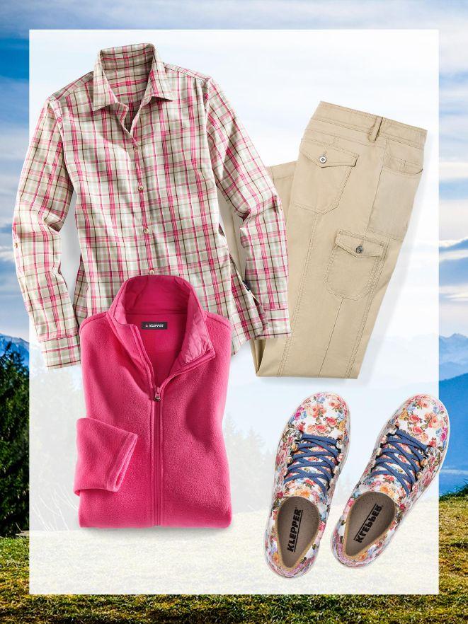 3c0b1494bd2d8b Damen-Outfit für den Wanderurlaub im Online-Shop bequem kaufen ...