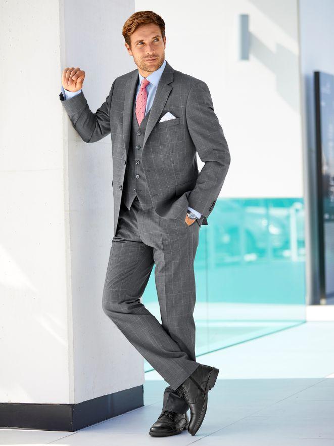 ee9c8cd0085fb7 Masterclass Anzug 3-teilig im Online-Shop bequem kaufen