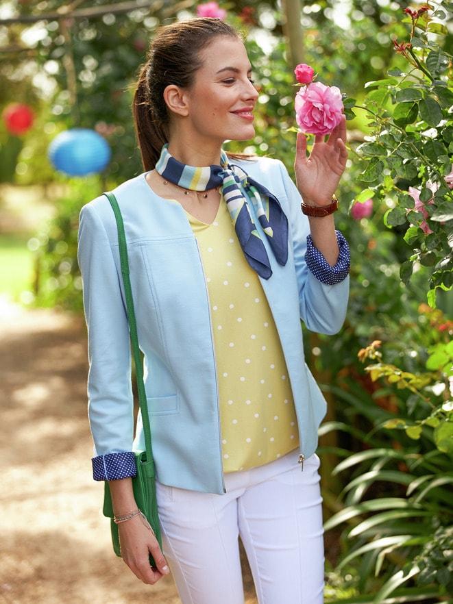 Outfit Jerseyblazer Stylingtalent