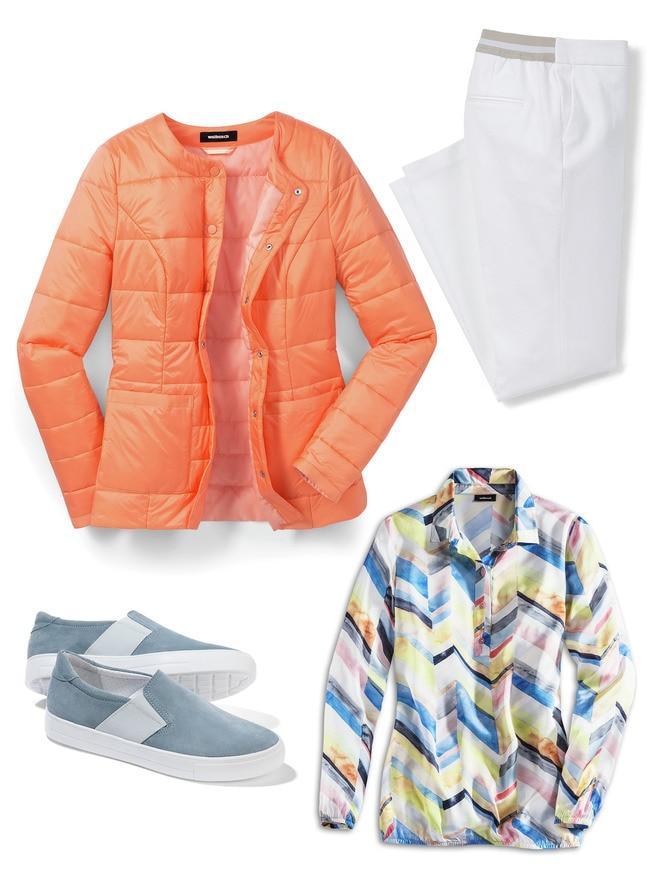 Steppjacke Outfit Klassisch