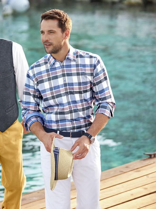 Outfit Flanieren am Wasser