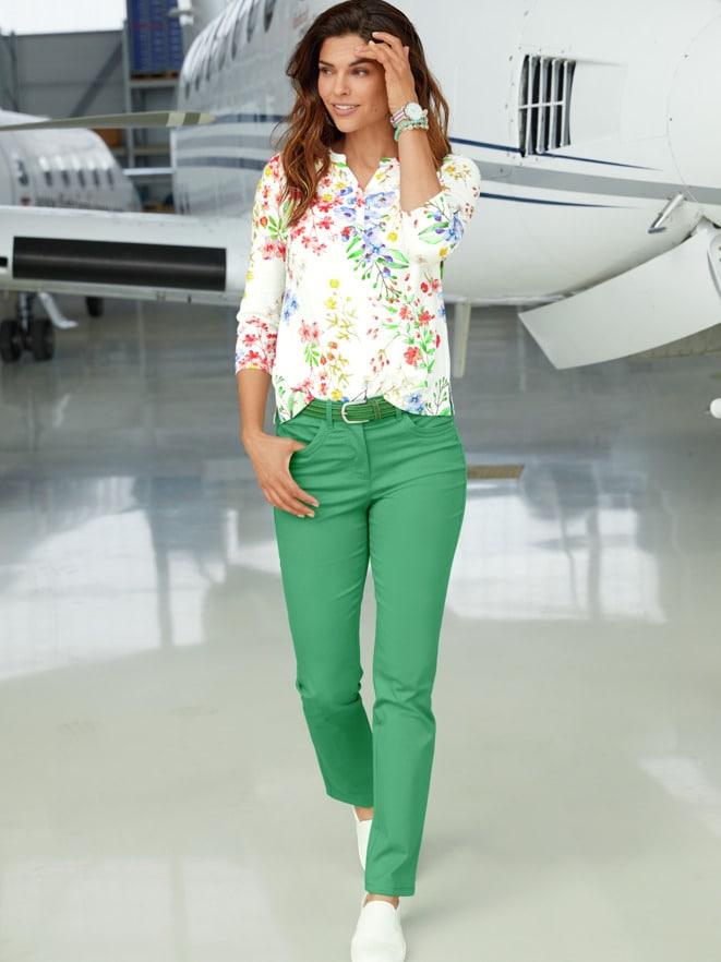 Outfit Shirt Ab ins Grüne