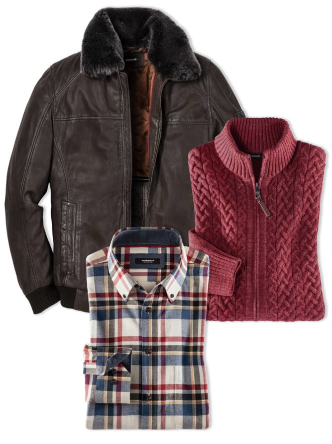 Outfit Herr Outdoor