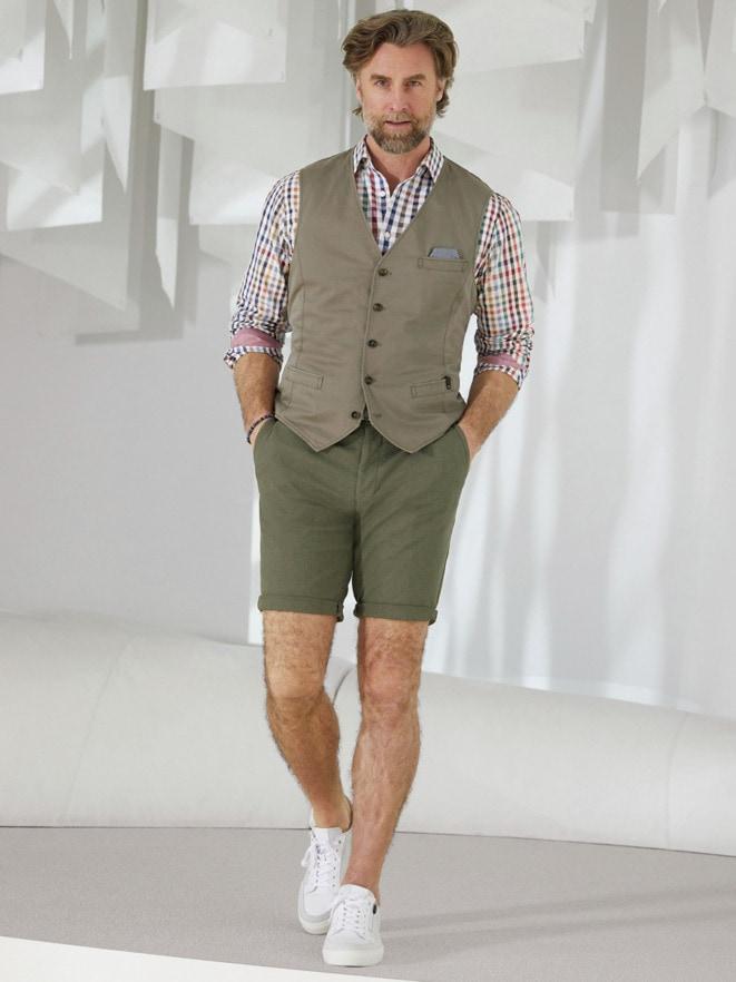 Outfit Atelier-Hemd Vichykaro