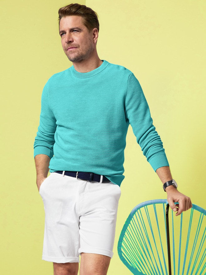 Outfit Rundhals-Pullover Ottoman