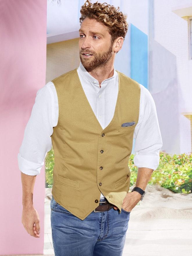 Outfit Baumwoll-Weste