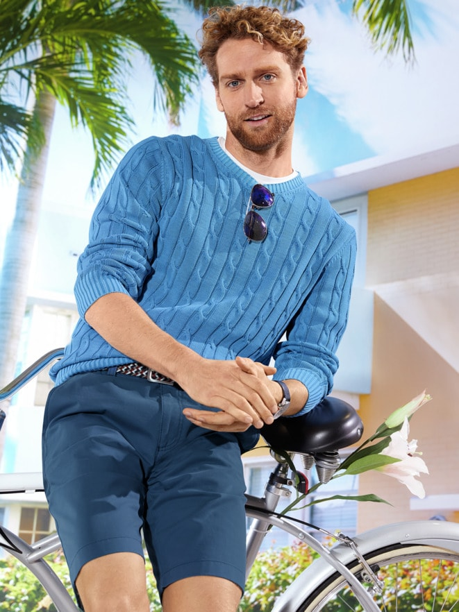 Outfit Premium SUPIMA® Pullover
