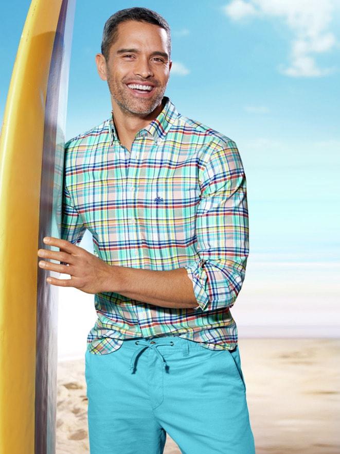 Outfit Sommer-Hemd Sportsman