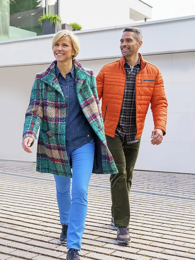 Outfit TV Microfaser Leichtjacke