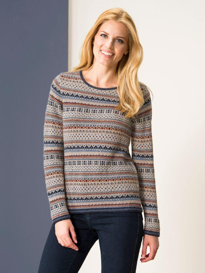 Schottische pullover preisvergleiche erfahrungsberichte und kauf bei nextag - Fair isle pullover damen ...