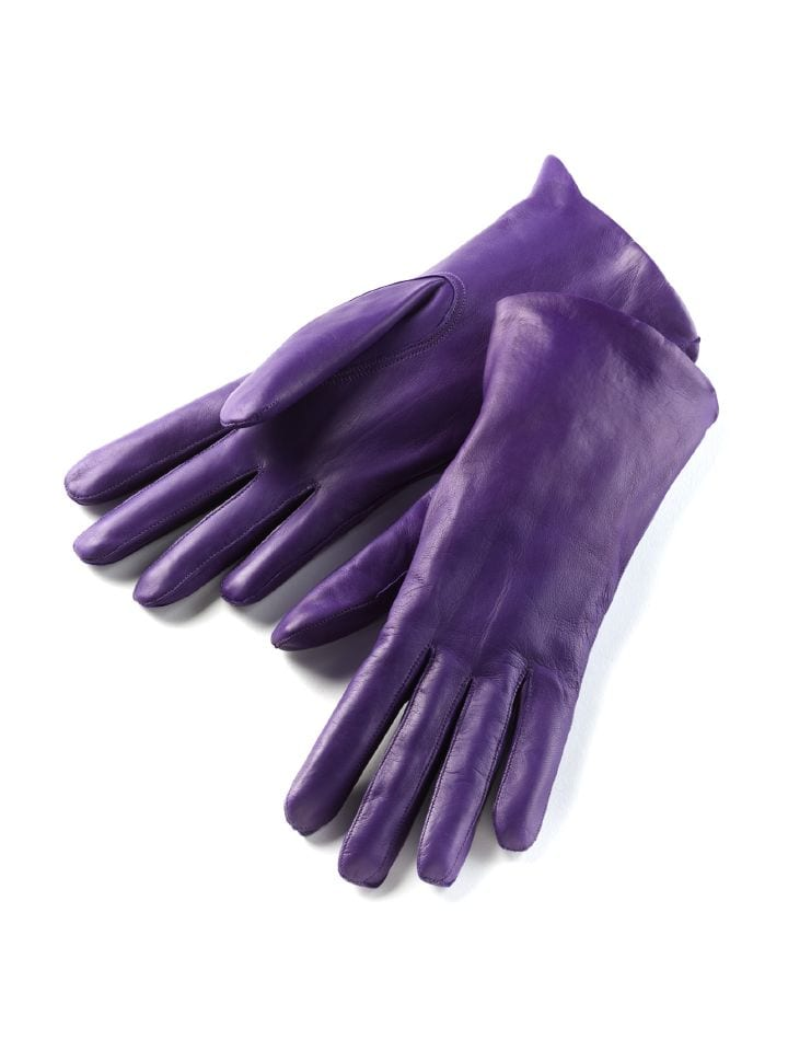 Walbusch Lammnappa-Handschuh Dame Lila  außen Lammnappa-Leder 6,5, 7,5, 8