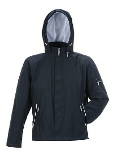 Aquastop Anorak Navy Detail 3