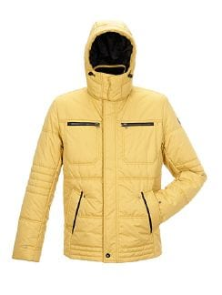 Wintersteppjacke Curry Detail 8
