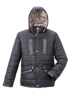Klepper Aquastop Steppjacke Anthrazit Detail 5