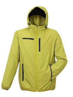Klepper Travel Jacke Gelb Detail 4