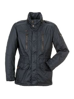 camel active Carbon Jacke Navy Detail 4