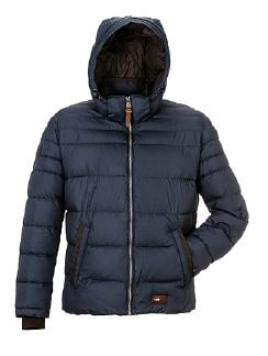 camel active Kapuzen Steppjacke Navy Detail 4