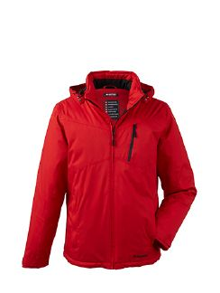 Klepper Jacke Mechanical Stretch Signalrot Detail 5