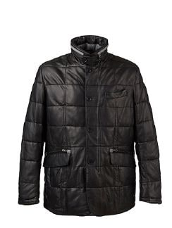 Lammnappa Thermo Jacket Schwarz Detail 7