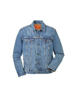 Levis Trucker Jacket Blau Detail 5
