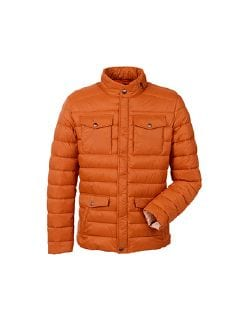 Light Weight Steppjacke Orange Detail 6