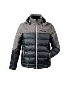 Klepper Thermo Steppjacke Schwarz Detail 5