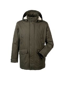 Thinsulate Parka Oliv Detail 6