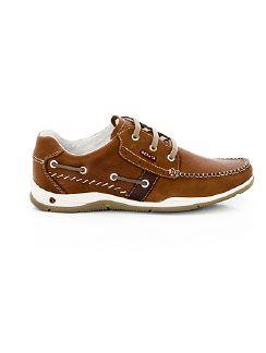 Boots-Schuh Air Cognac Detail 3
