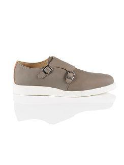 Sneaker-Monk Grau Detail 3