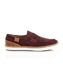 Sport-Loafer Bordeaux Detail 3