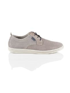 Freizeit Sneaker Flexible Grau Detail 3