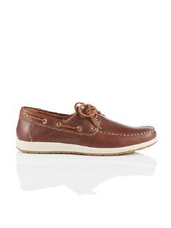 Boots-Schuh Braun Detail 3