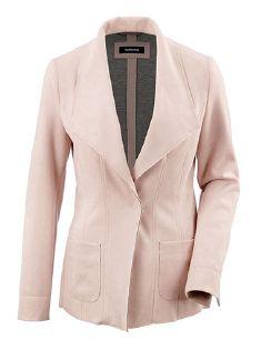 Velours-Jersey Cardigan Rosa Detail 5