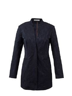 Betty Barclay Jacquardblazer Indigoblau Detail 8