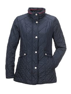 Steppjacke Normandie Marine Detail 6