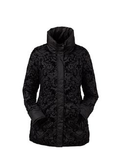 Cityjacke Lady in Black Schwarz Detail 6