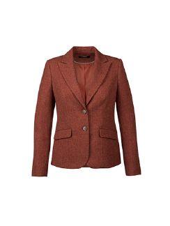 Tweedblazer British Wool Rostorange Detail 6