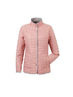 Wendesteppjacke Pure and Simple Rose/Grau Detail 7