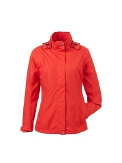Klepper Sommerjacke packable Signalrot Detail 7