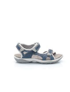 Klepper Klett-Sandale Dame Blau Detail 3