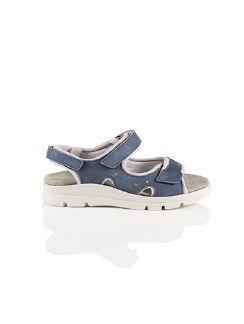 Klepper Sandale Blau Detail 3
