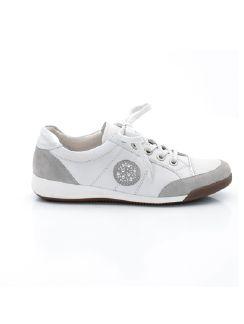 Sneaker Sommerleicht Weiß Detail 5