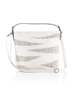 Handtasche Softtouch Creme Detail 3
